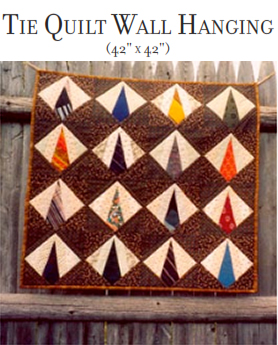 Christmas Quilt Wall Hanging Pattern ~ Dash