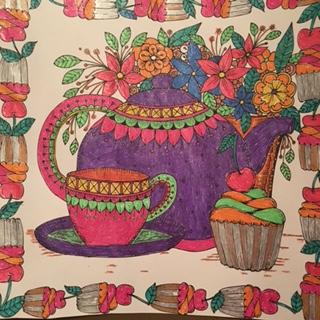 Maryjanesfarm Farmgirl Connection Adult Coloring Books