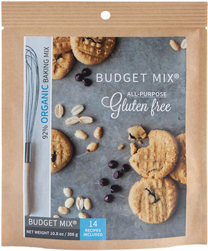 Budget Mix Gluten-Free pouch packaging