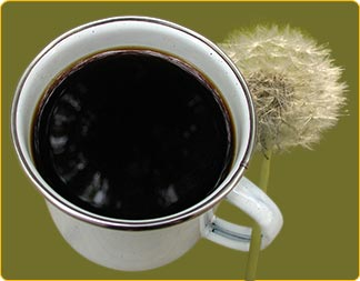When brewed properly, dandelion root coffee closely resembles the rich ...
